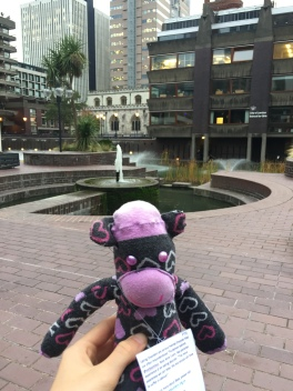 Beatrice visits The Barbican, London