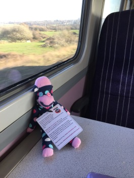 Dot takes the train to Barnsley